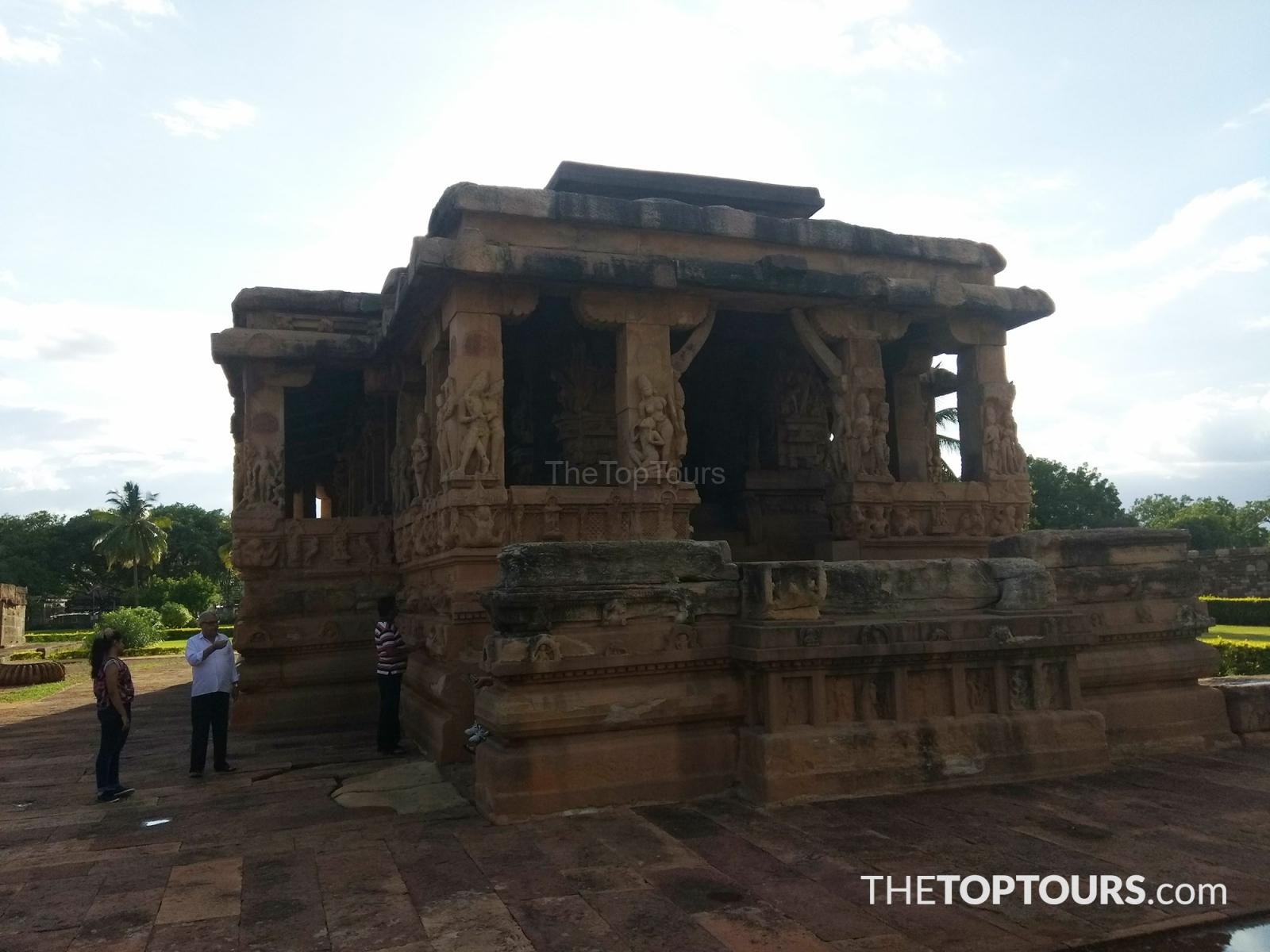Ancient Durga Temple in Badami, Karnataka