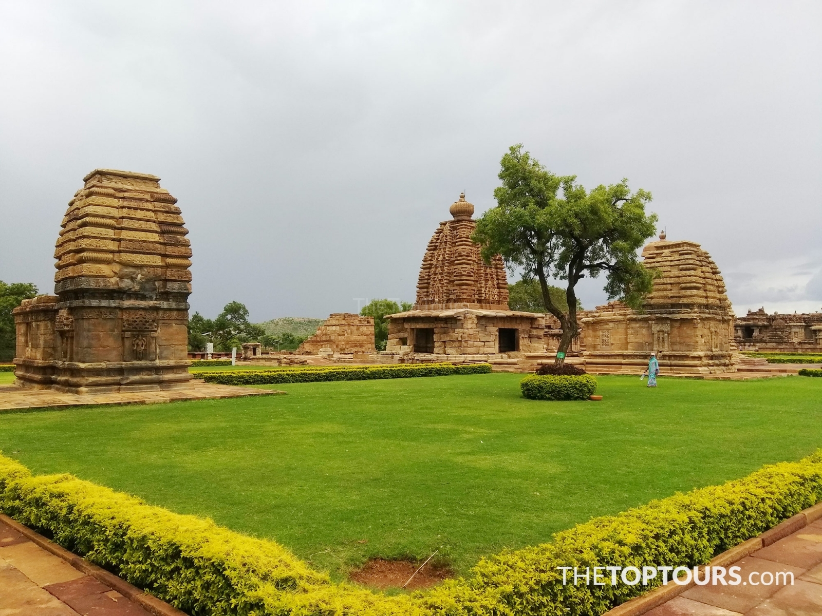 Badami Cave Temple Monuments of Western Chalukyas