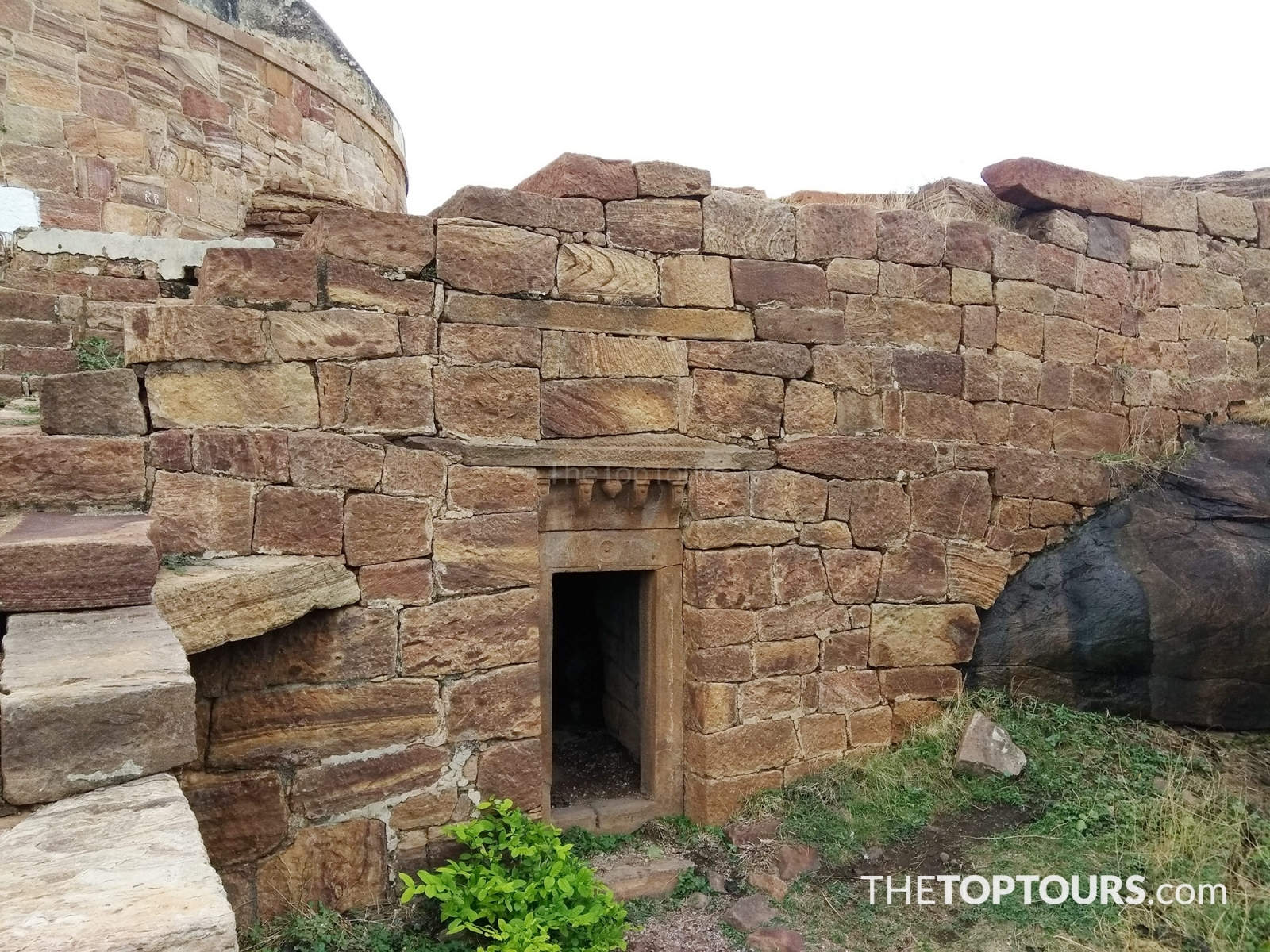 Badami Fort Small Room of Chalukya Architecture