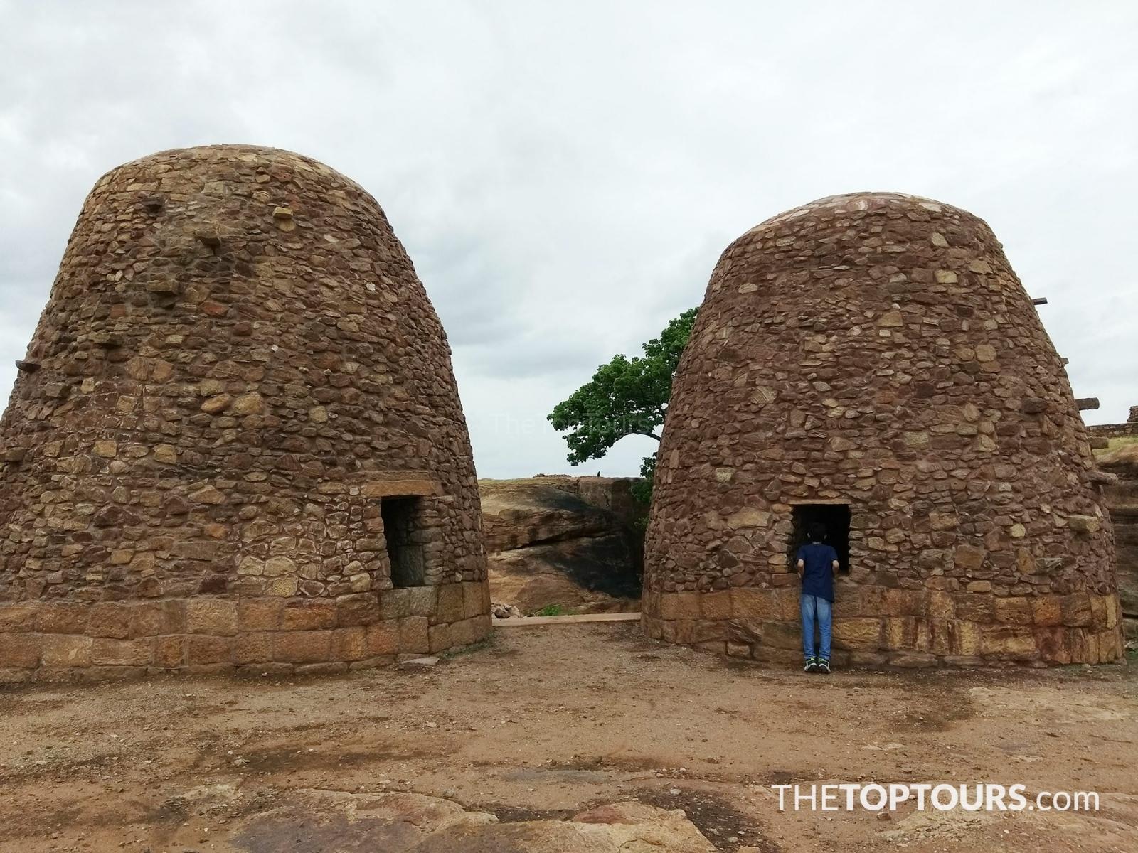Beautiful Badami Caves Temples in Karnataka
