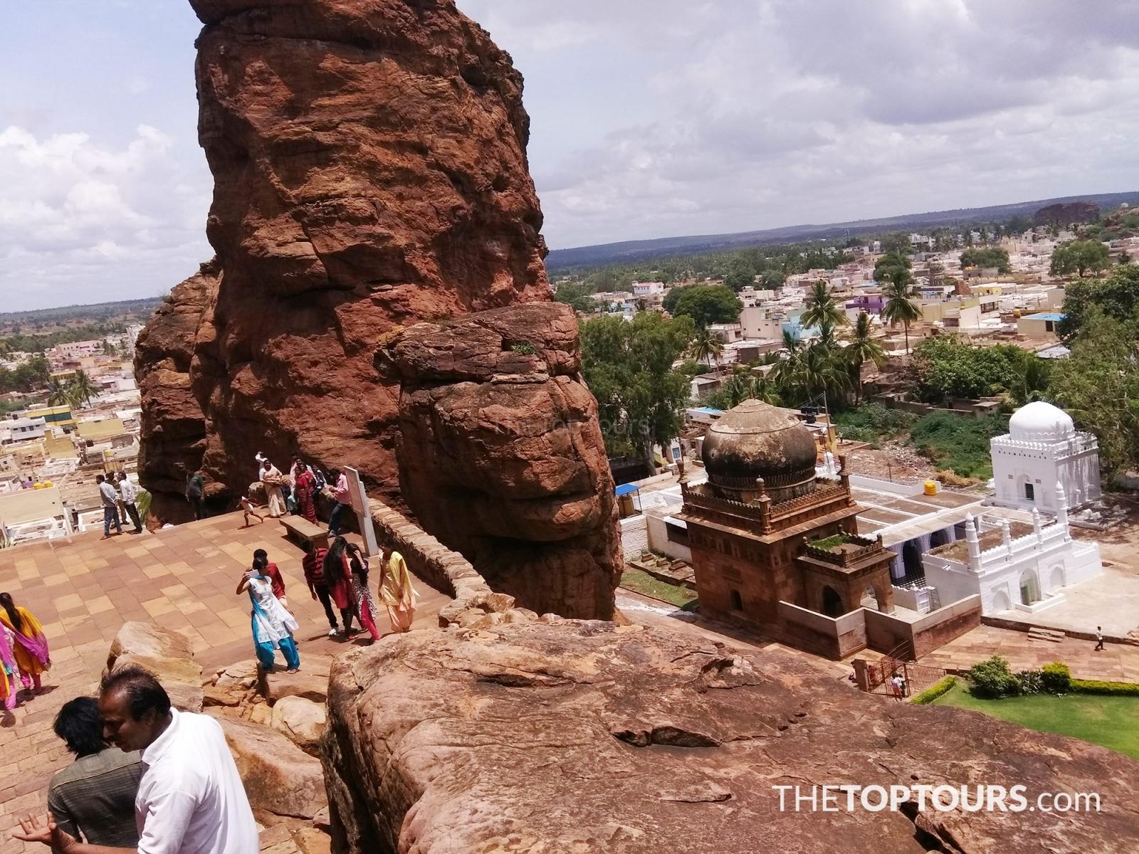 Mosque Near the Cave Temples at Badami, Karnataka