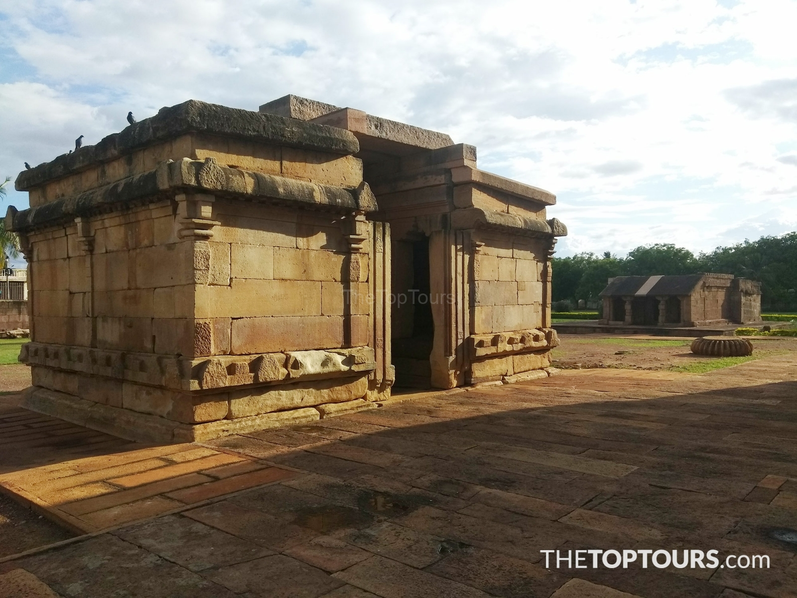 Structure is Believed to Be the Gateway of Durga Temple, Aihole