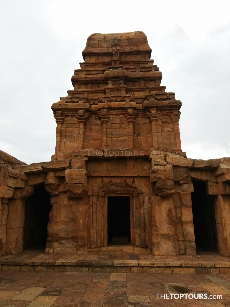 Rock Cut Architecture, Badami Fort, Karnataka