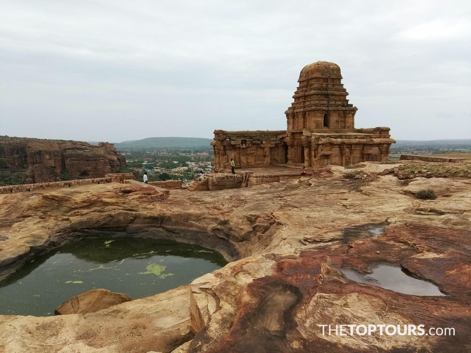 The Rock Cut Cave Temples of Badami, Karnataka