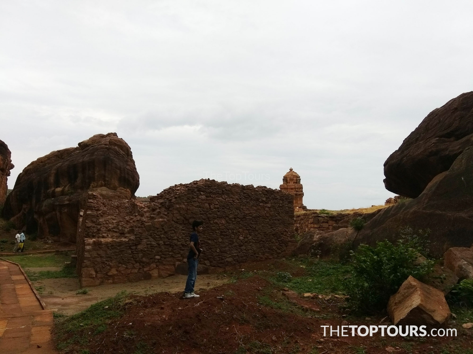 Unfinished Badami Fort, Karnataka