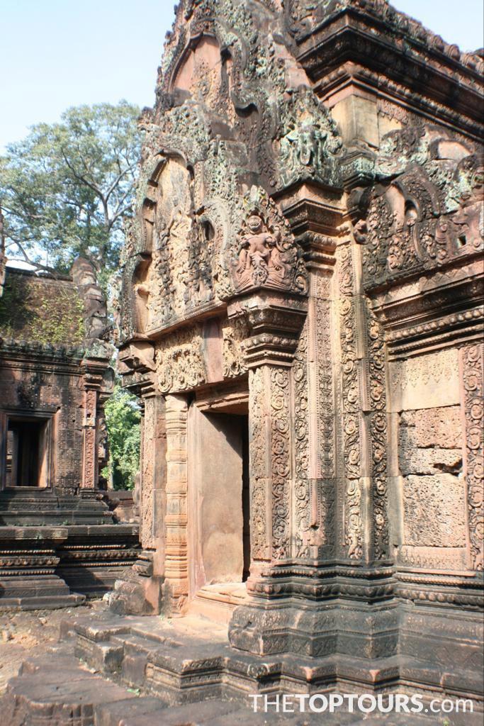 Apsara Banteay Srei Temple Angkor Siem Reap, Cambodia