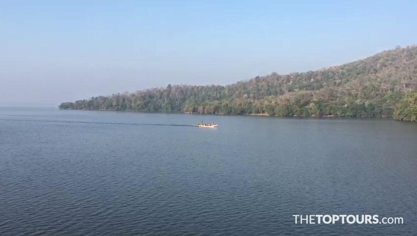 Boating in Laknavaram Lake, Warangal