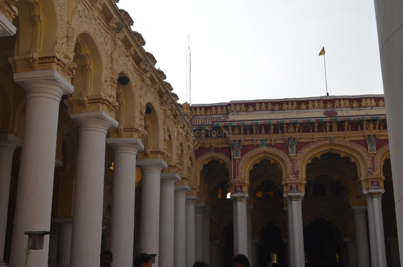 Thirumalai Nayakar Mahal, Madurai Palace Heritage Structure, Tamilnadu