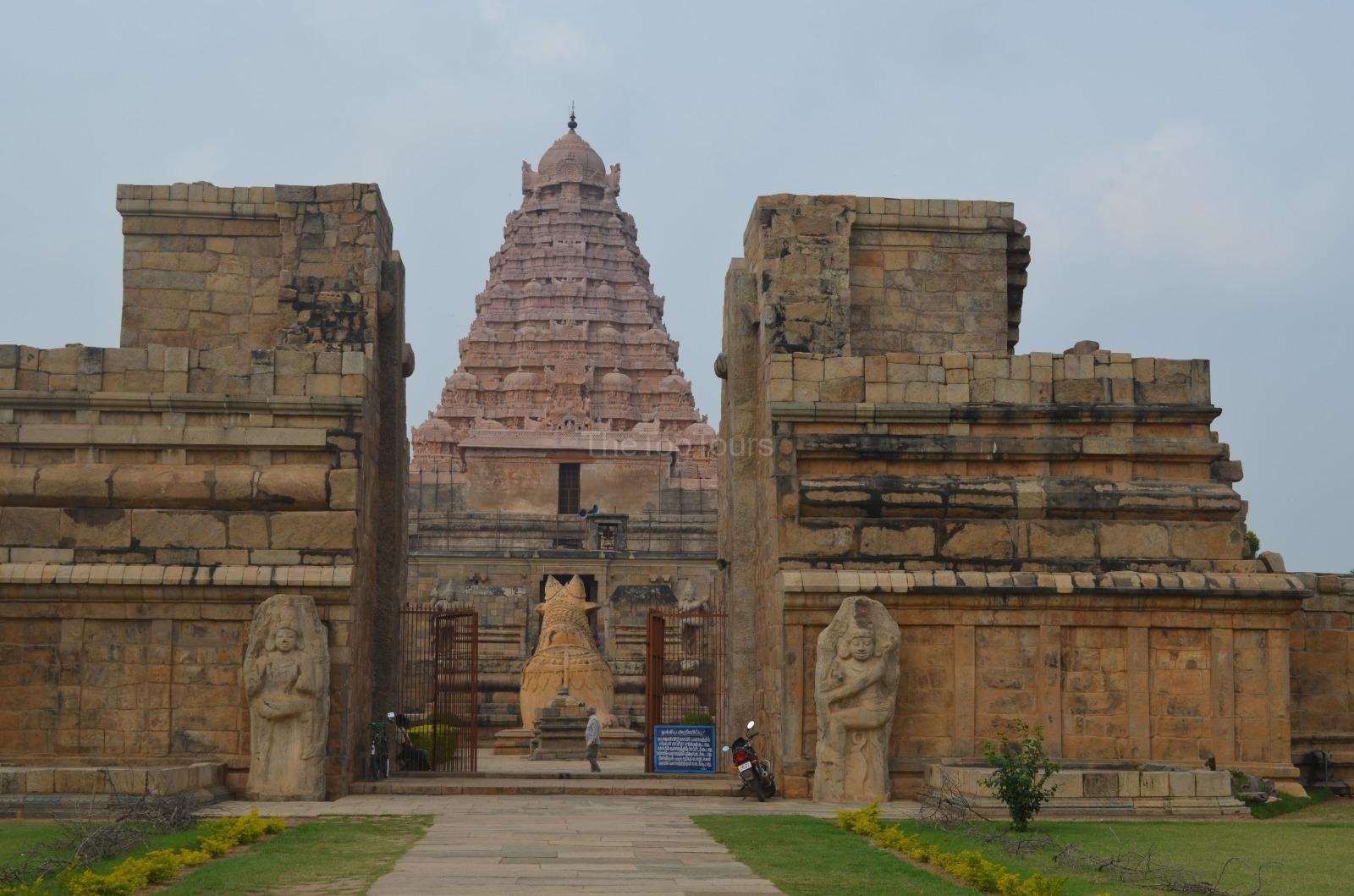 Brihadeeswara Temple Gangaikonda Cholapuram, In The South Indian State of Tamil Nadu