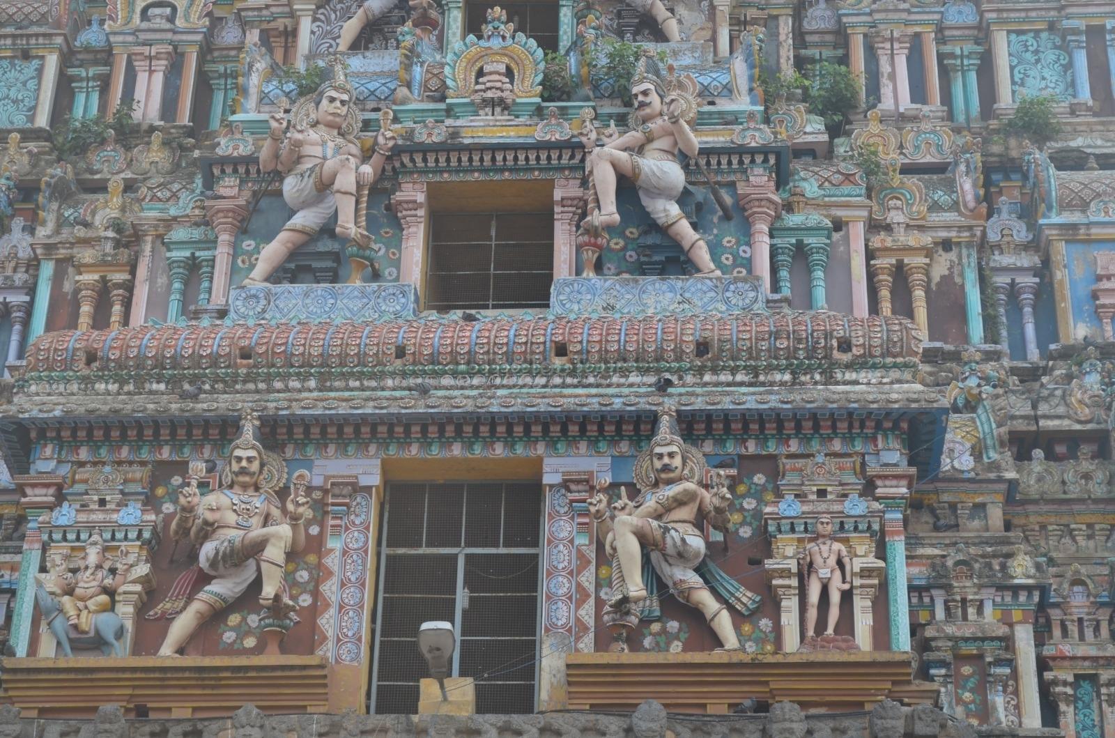 Chidambaram Temple In Tamil Nadu Tower View