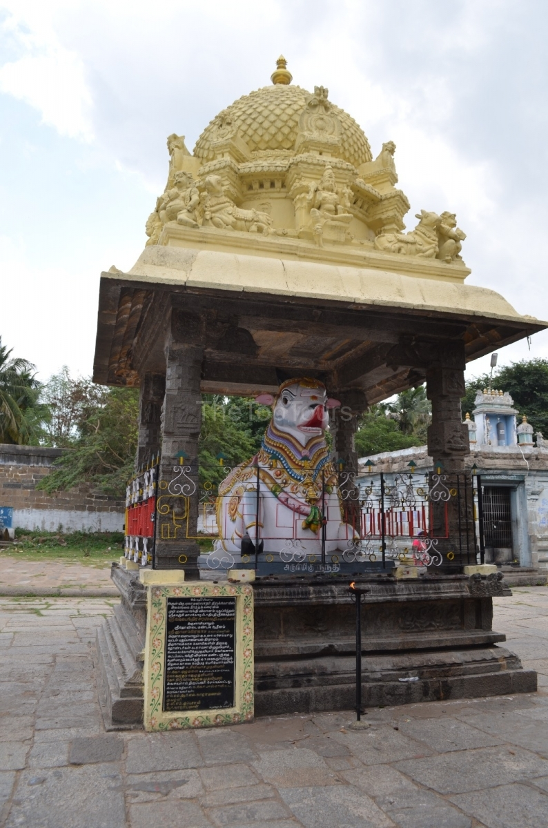 Ekambareswarar Temple Nandi Kanchipuram, Tamil Nadu