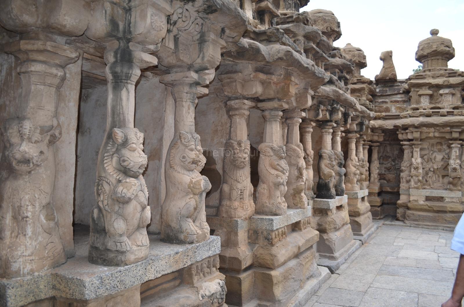Kailasanathar Temple Kanchipuram, Tamil Nadu