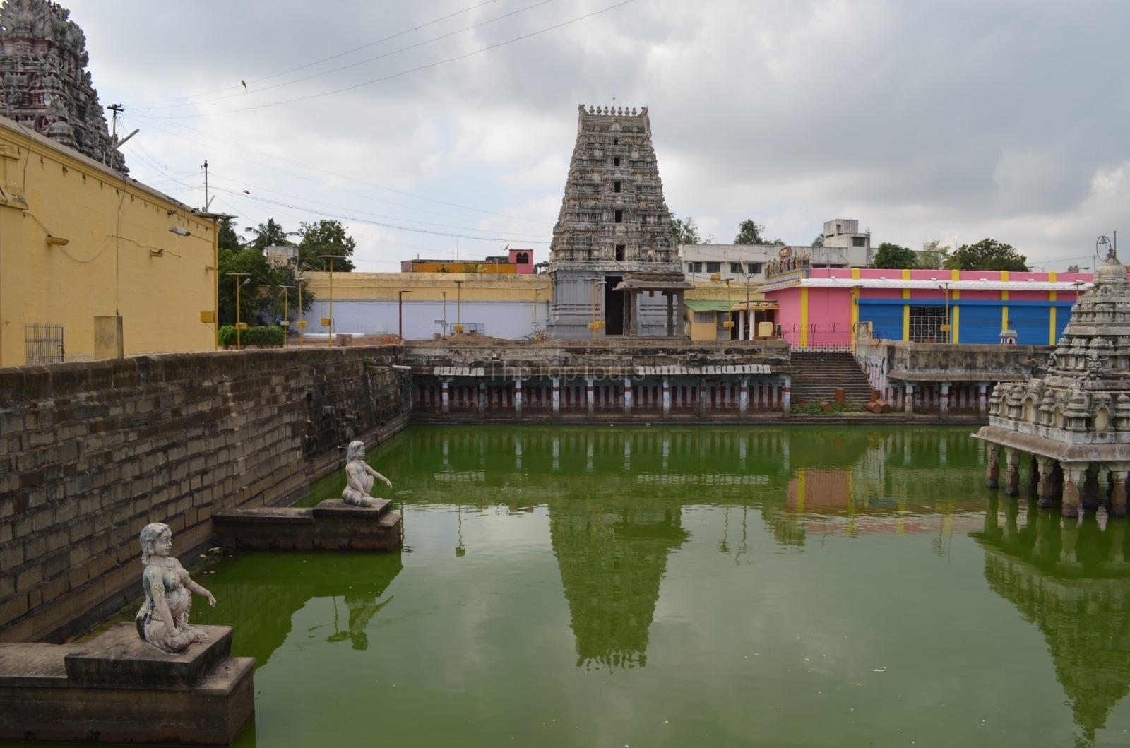 Kanchipuram Sri Kanchi Kamakshi Amma Temple, Tamil Nadu