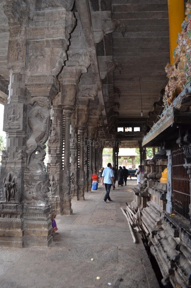 Most Famous Temples In Kanchipuram Ekambareswarar Temple