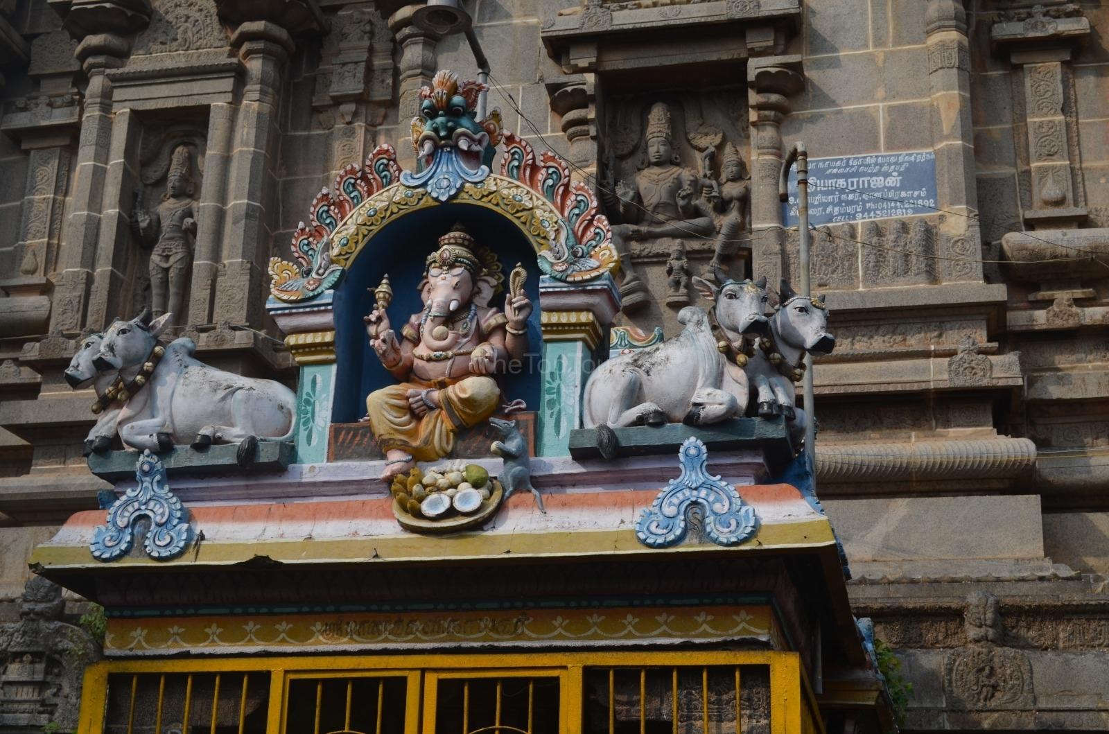 Nataraja Temple Ganesh Chidambaram, Tamil Nadu India