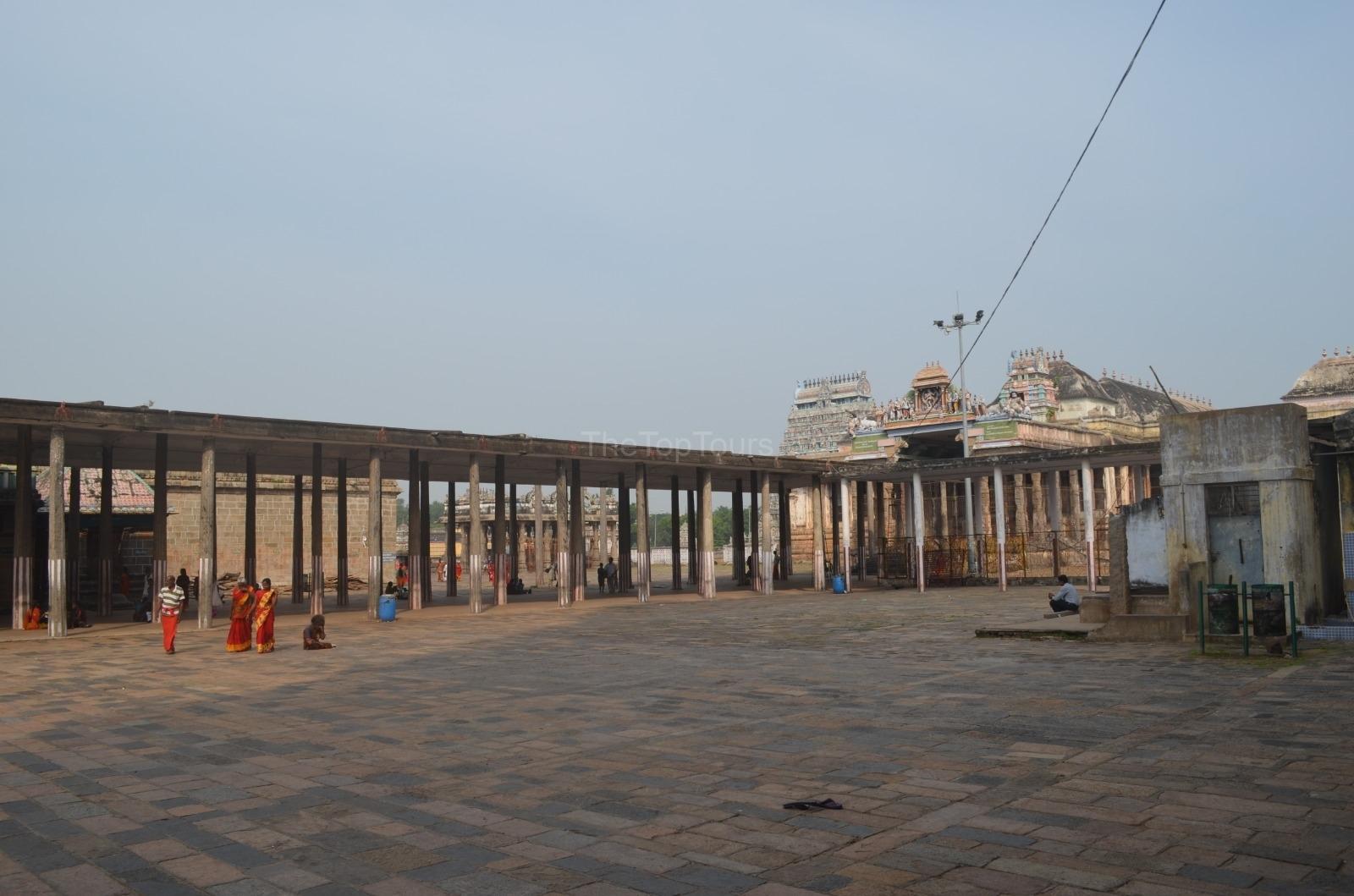 Nataraja Temple Side View Chidambaram, Tamil Nadu