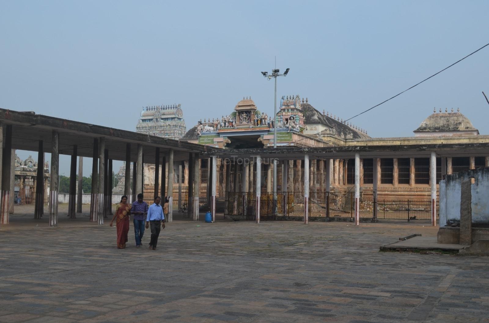 Thousand Pillar Hall Nataraja Temple Complex Chidambaram, Tamil Nadu
