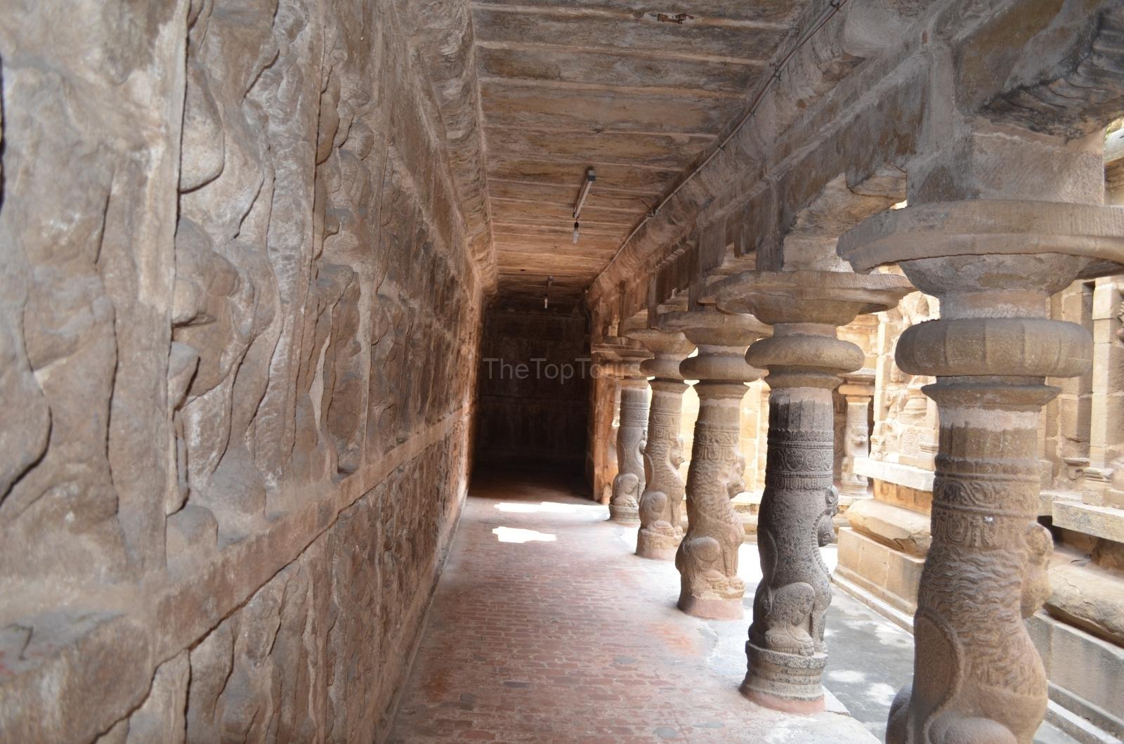 Vaikunta Perumal Temple Sculptures Kanchipuram, Tamil Nadu