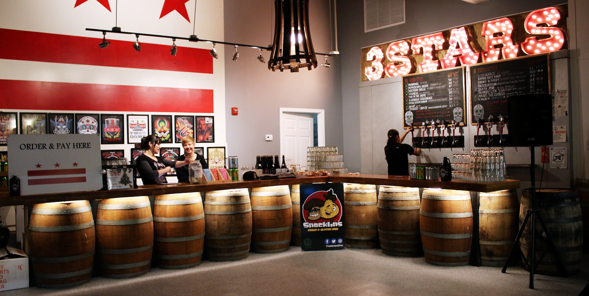3 stars Brewing - Fun Things To Do For A Fun Nightlife in Washington DC