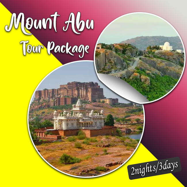 3 Days 2 Nights Mount Abu Tour Package