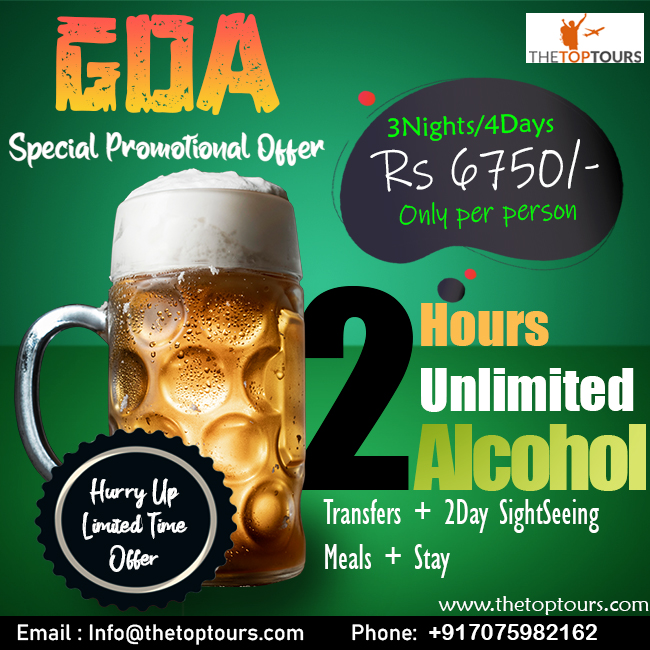 4 Days 3 Nights Stay in Sunkissed Plaza Goa