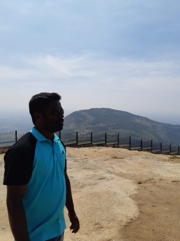 View of Nandi Hills