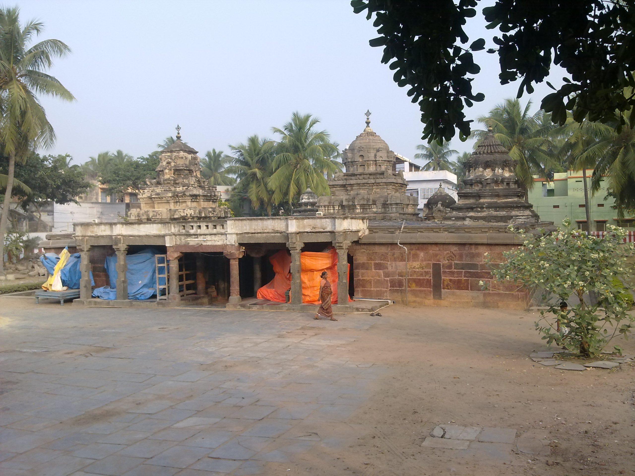 Famous Place to Visit Near Suryalanka Beach - Bhavanarayana Temple