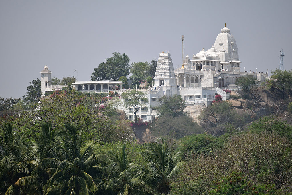 Famous Place You Must Visit Near The Golconda Fort - Birla Mandir