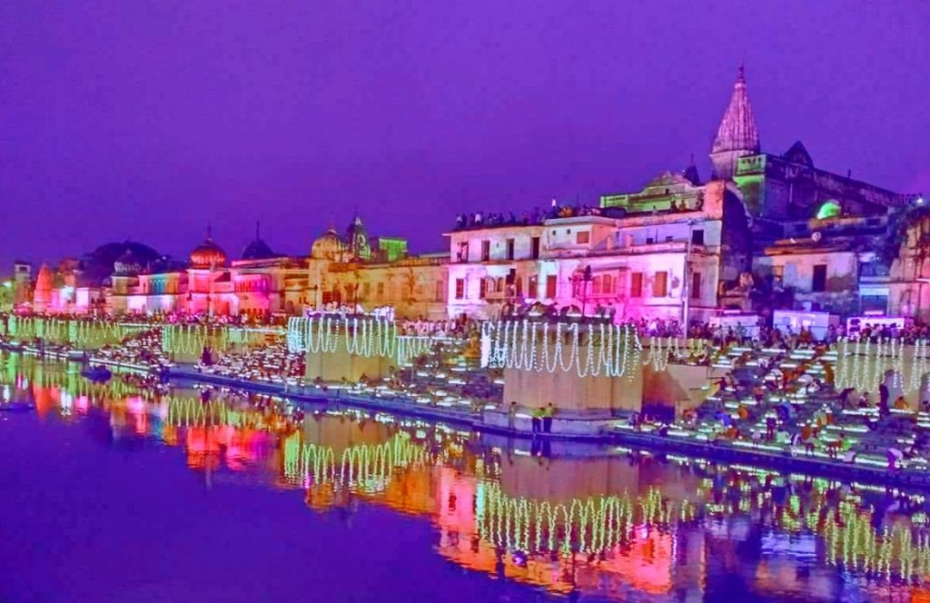Deepavali - Festival Celebrated in Krishna Janmasthan Temple