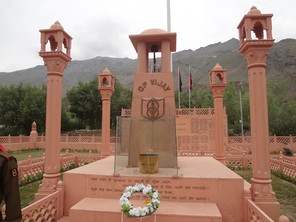 Places to See in Dras-Dras War Memorial