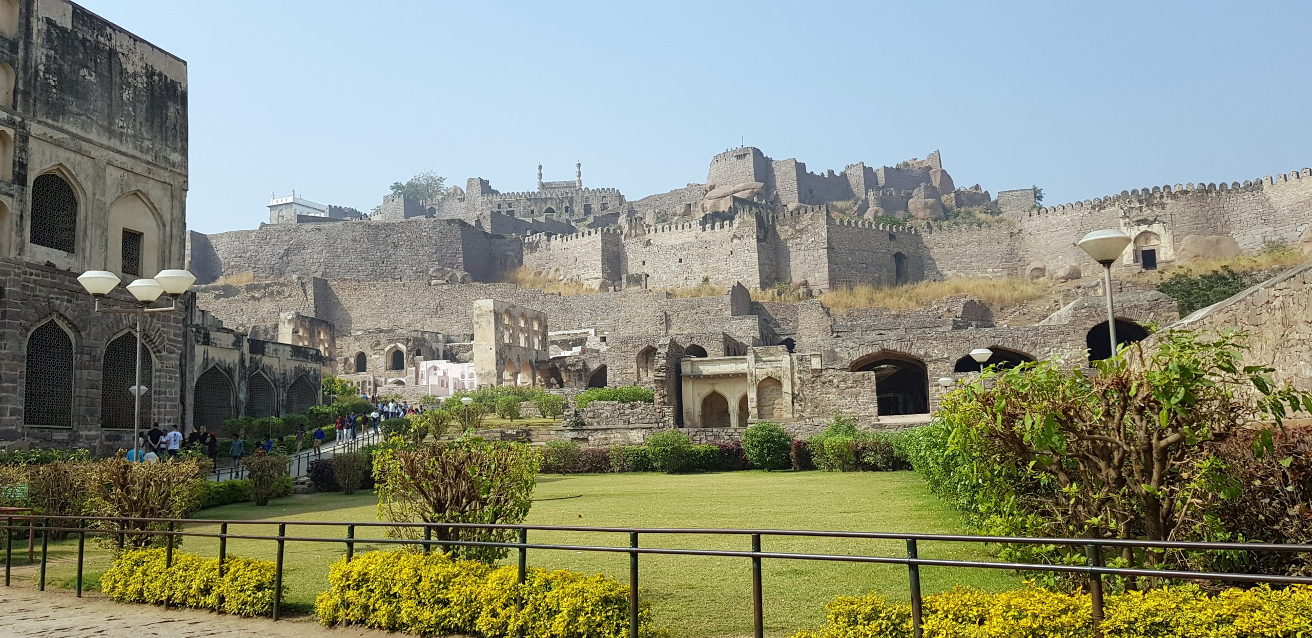 Golconda Fort - Famous Place To Visit Near Paigah Tombs