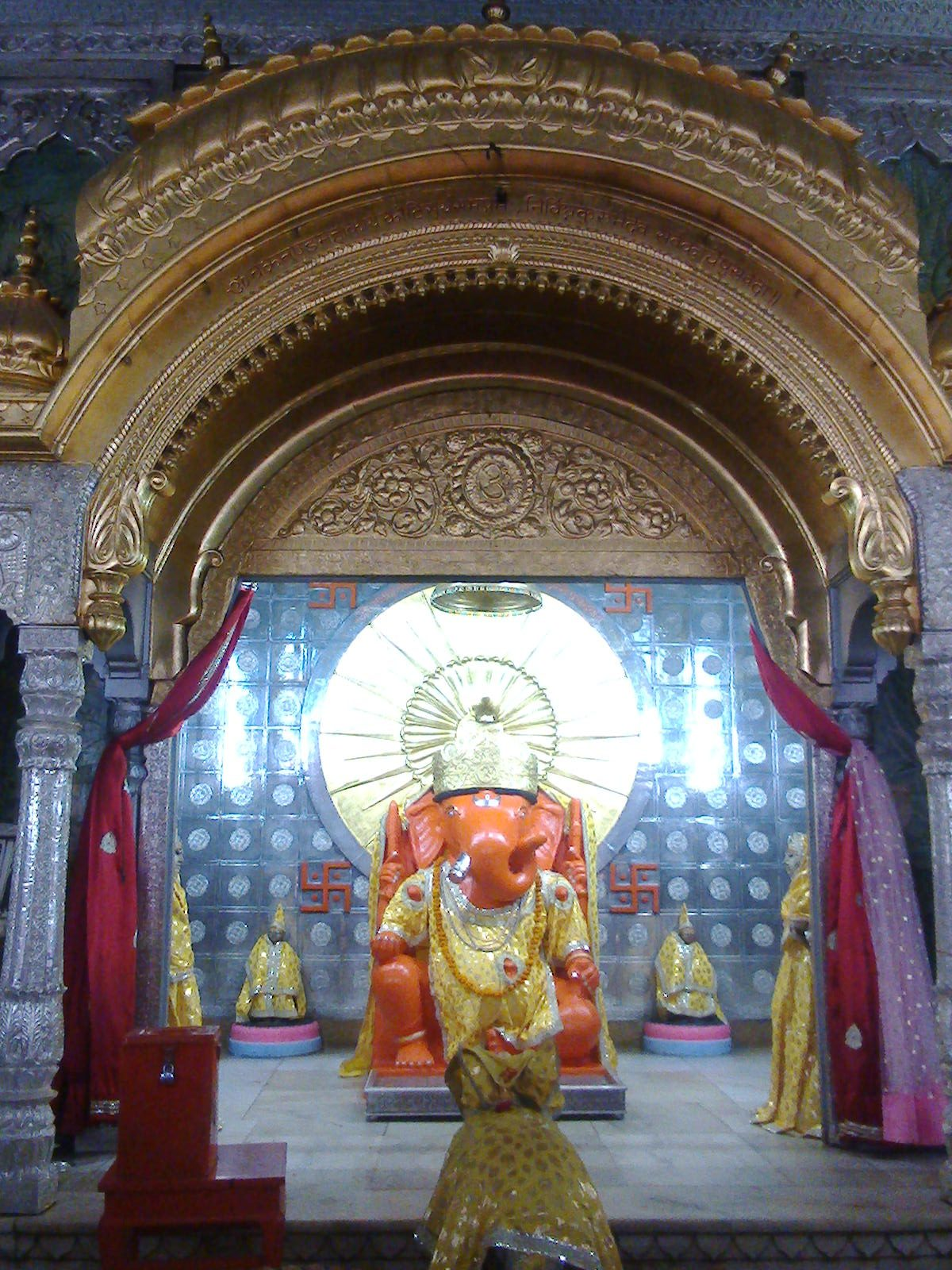 History and Legend of the Moti Dungri Temple