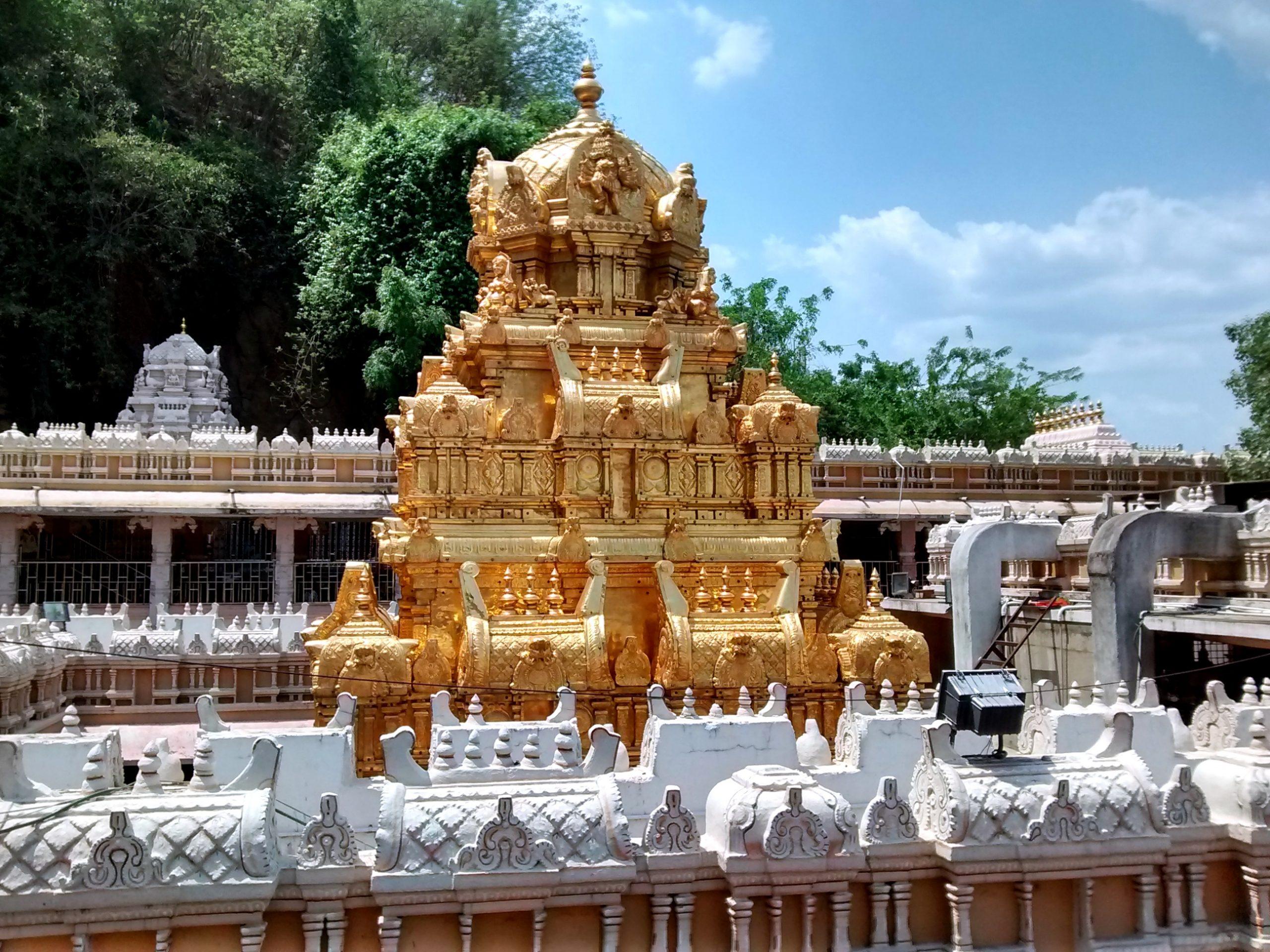 Attractions To Visit Near Mogalrajapuram Caves - Kanaka Durga Temple