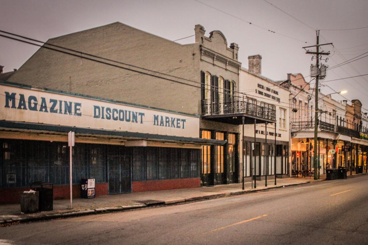 Magazine Street in New Orleans