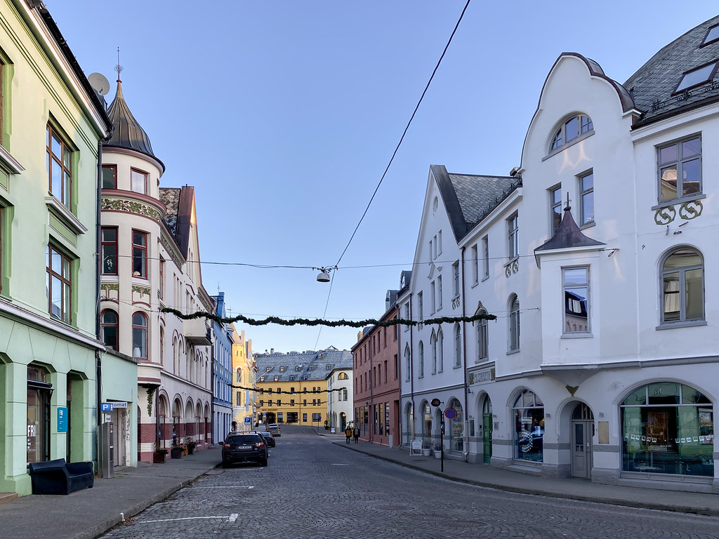 Best Place To See In Alesund - Old Town
