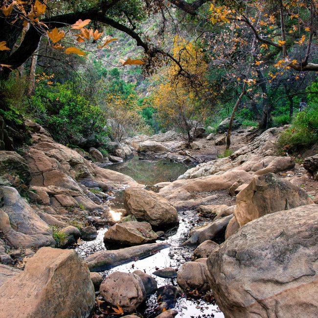Beautiful Waterfalls In Santa Barbara With Hiking Trails