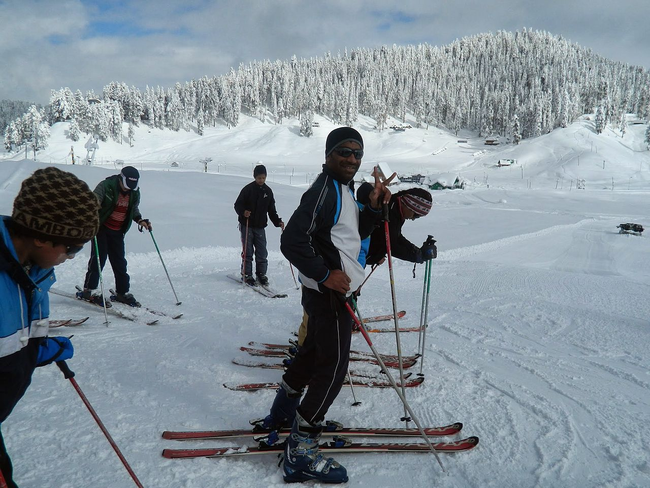 Places to See and Things to do in Gulmarg-Skiing