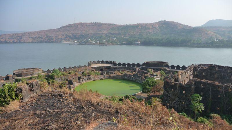 Structure of Murud Janjira Fort