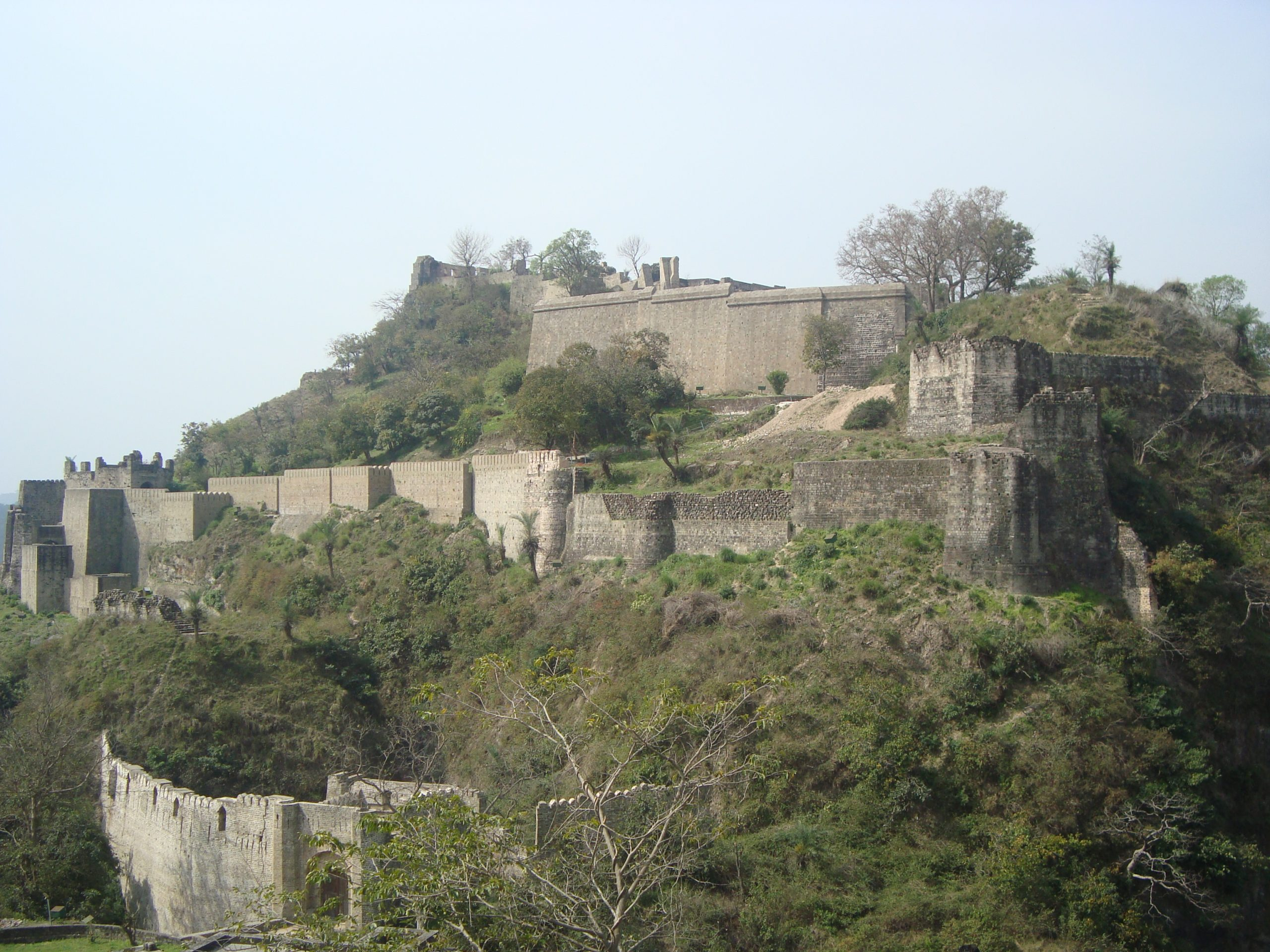 The Historic Experience of Kangra Fort