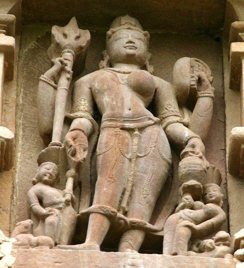 The Tale of Ardhanariswara Inside The Mogalarajapuram Caves