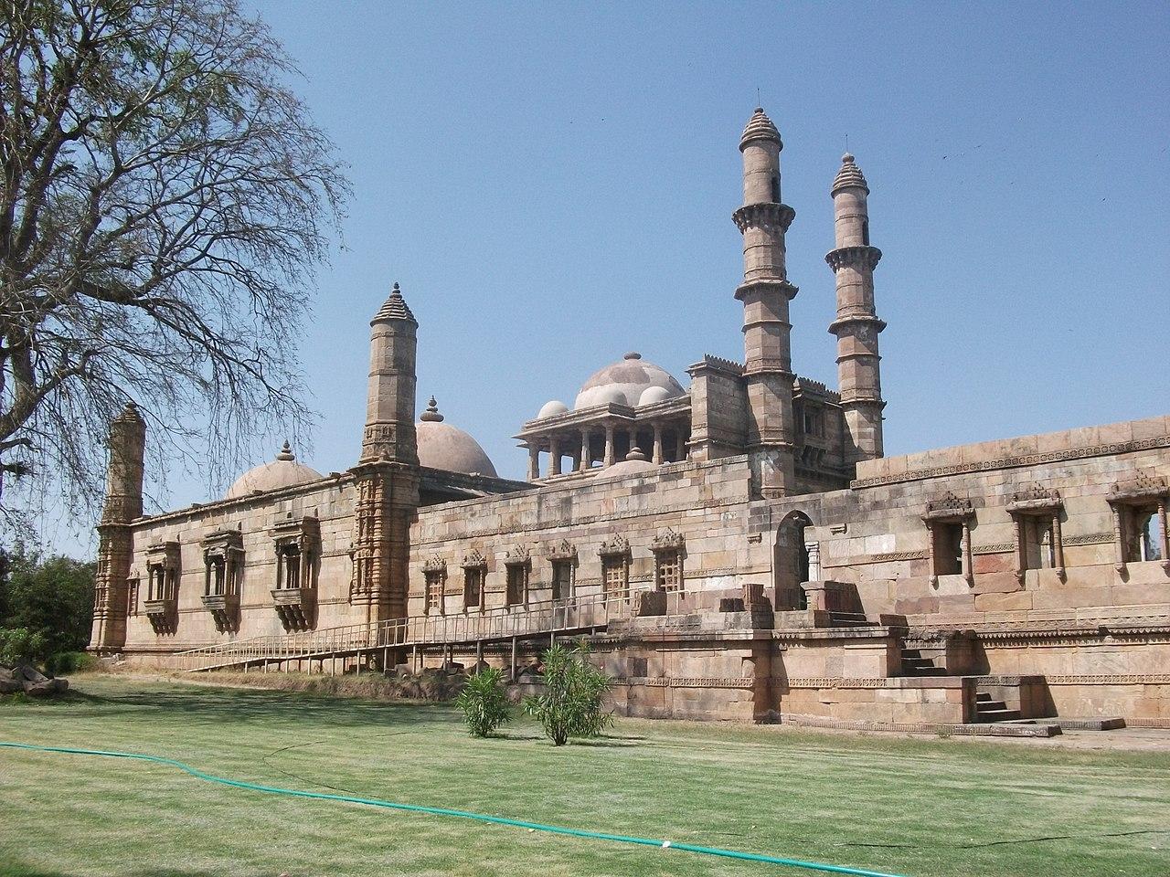 Place Near Sursagar Lake-UNESCO sites of Pavagadh, Champaner