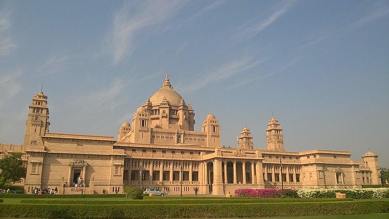 Visit Umaid Bhawan Palace in Jodhpur