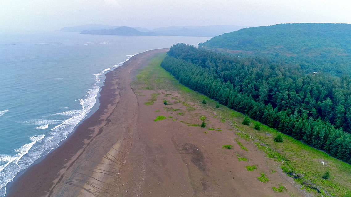Velas Beach - Top Place To Visit Near - Murud Janjira