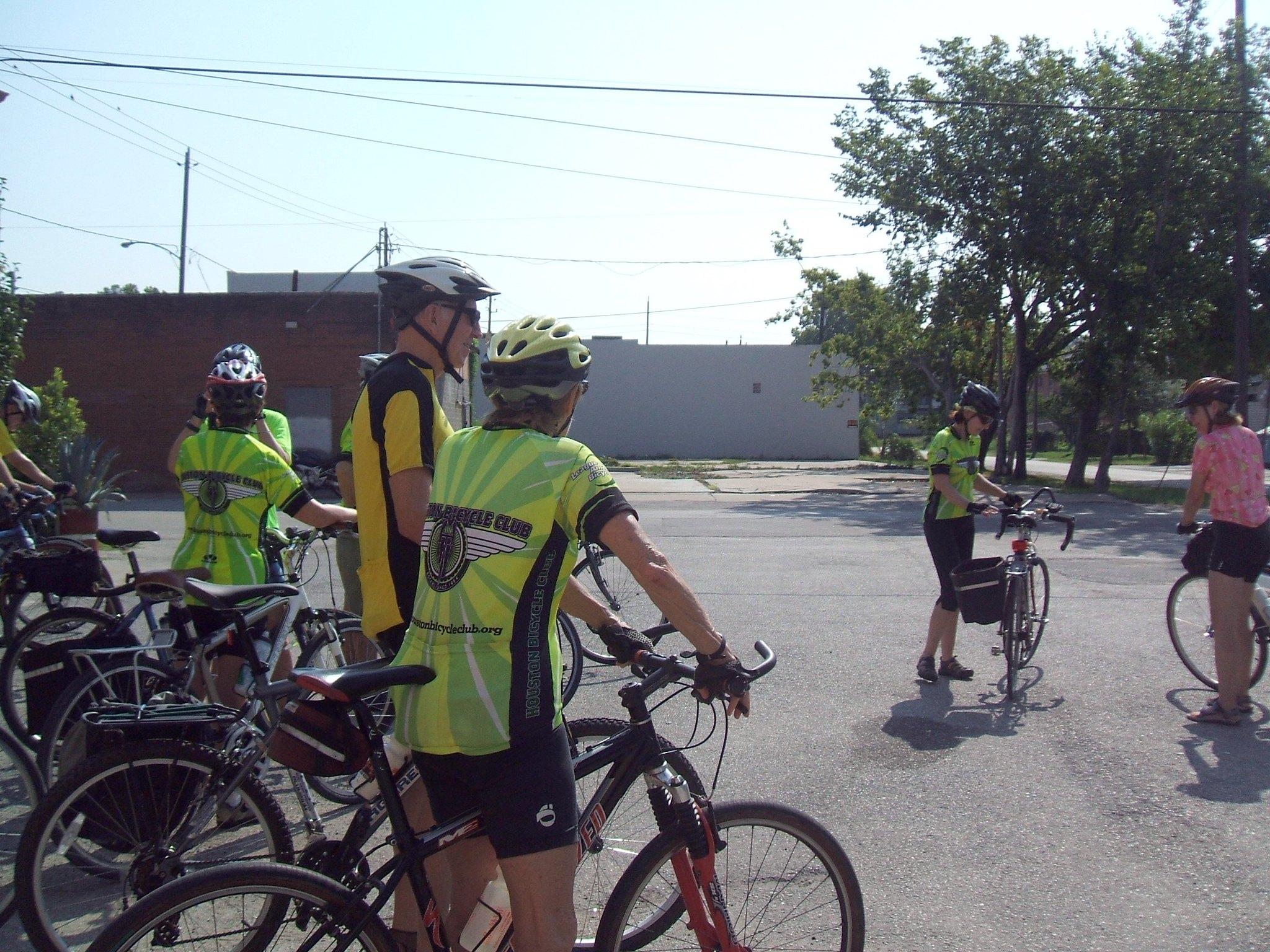 Outdoor Activities In Houston-A Bike Ride In Houston