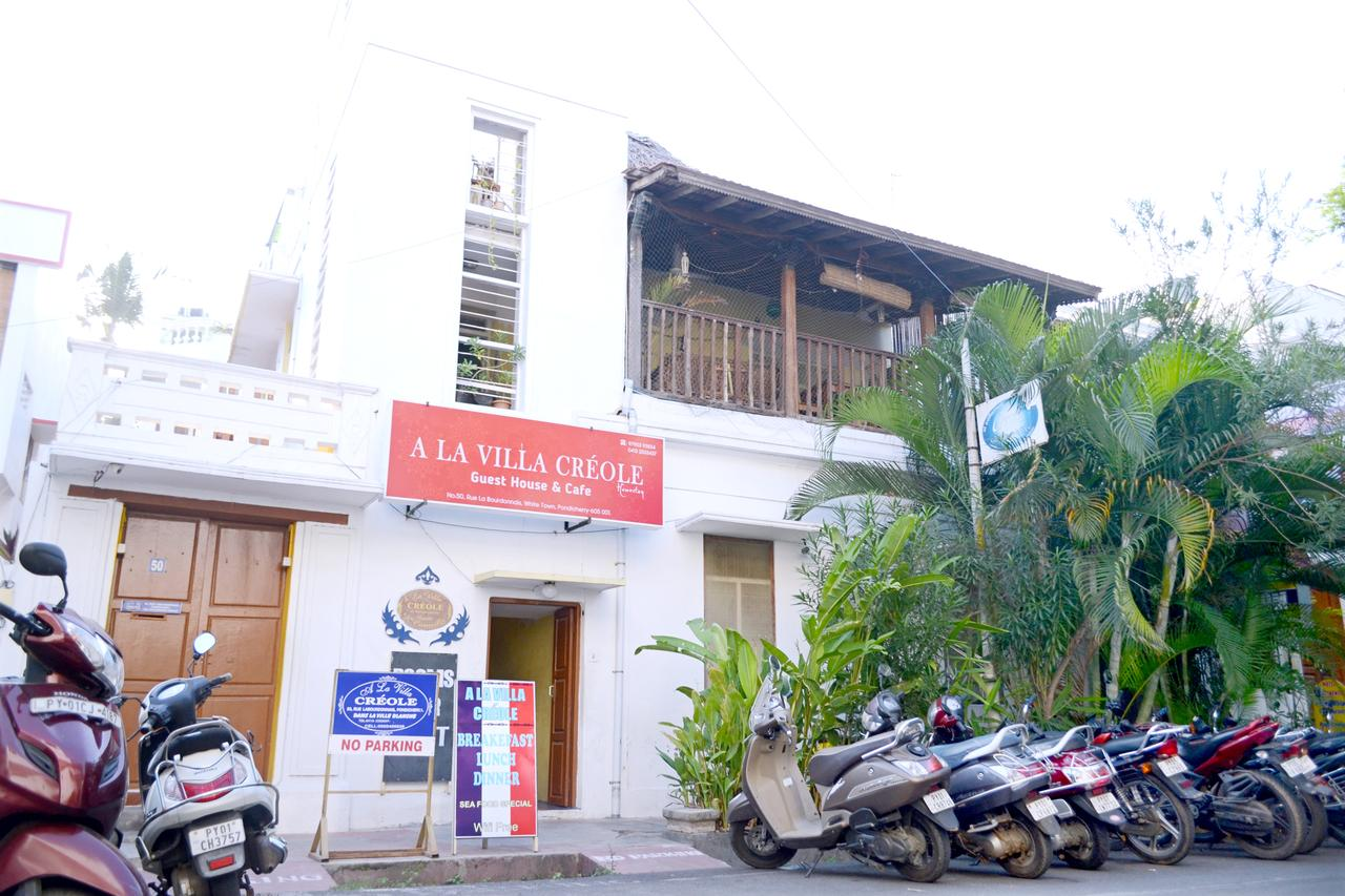 Budget Hotel in Pondicherry-A La Villa Creole