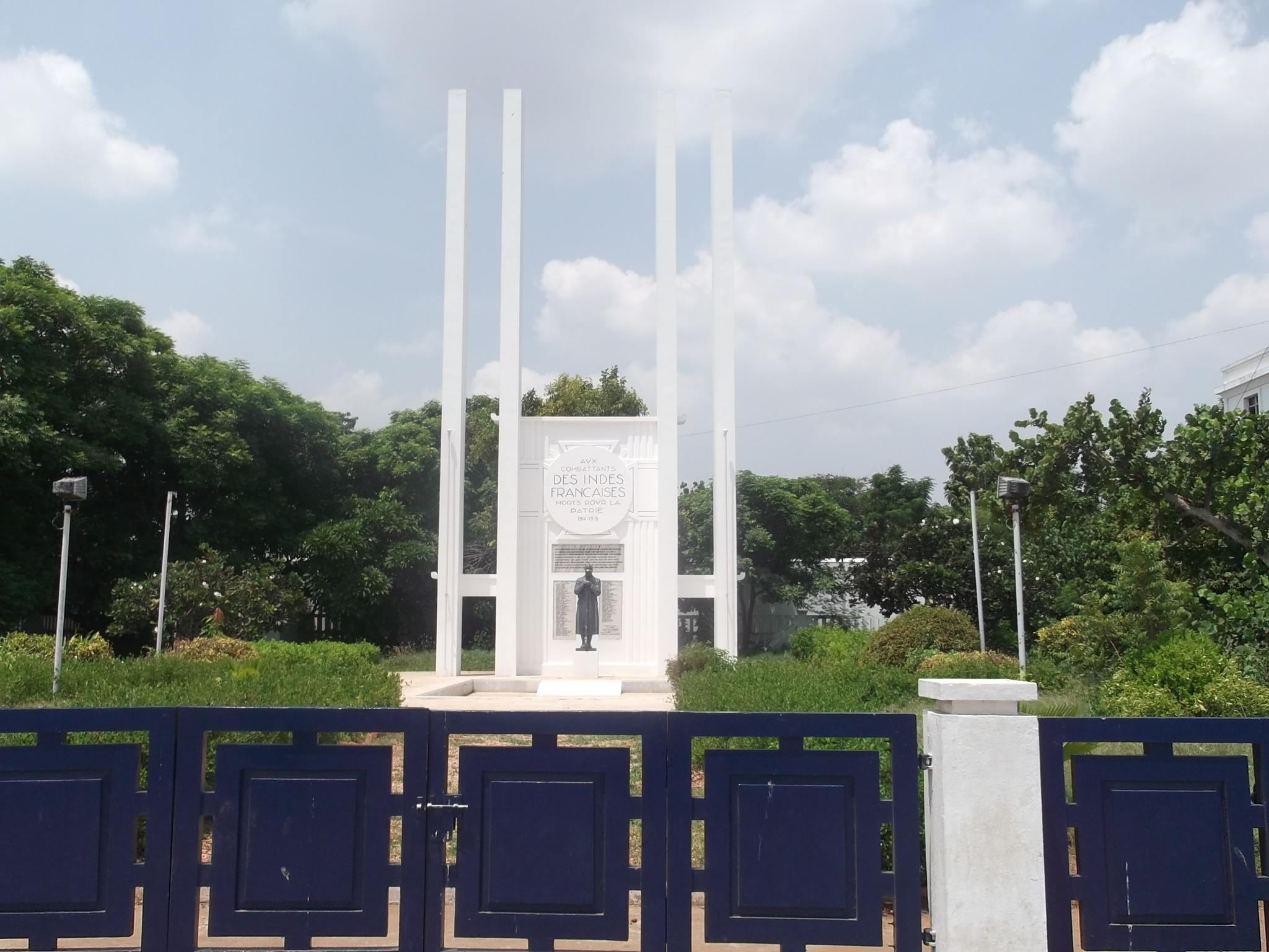 A Visit to the French War Memorial, Puducherry (Pondicherry)