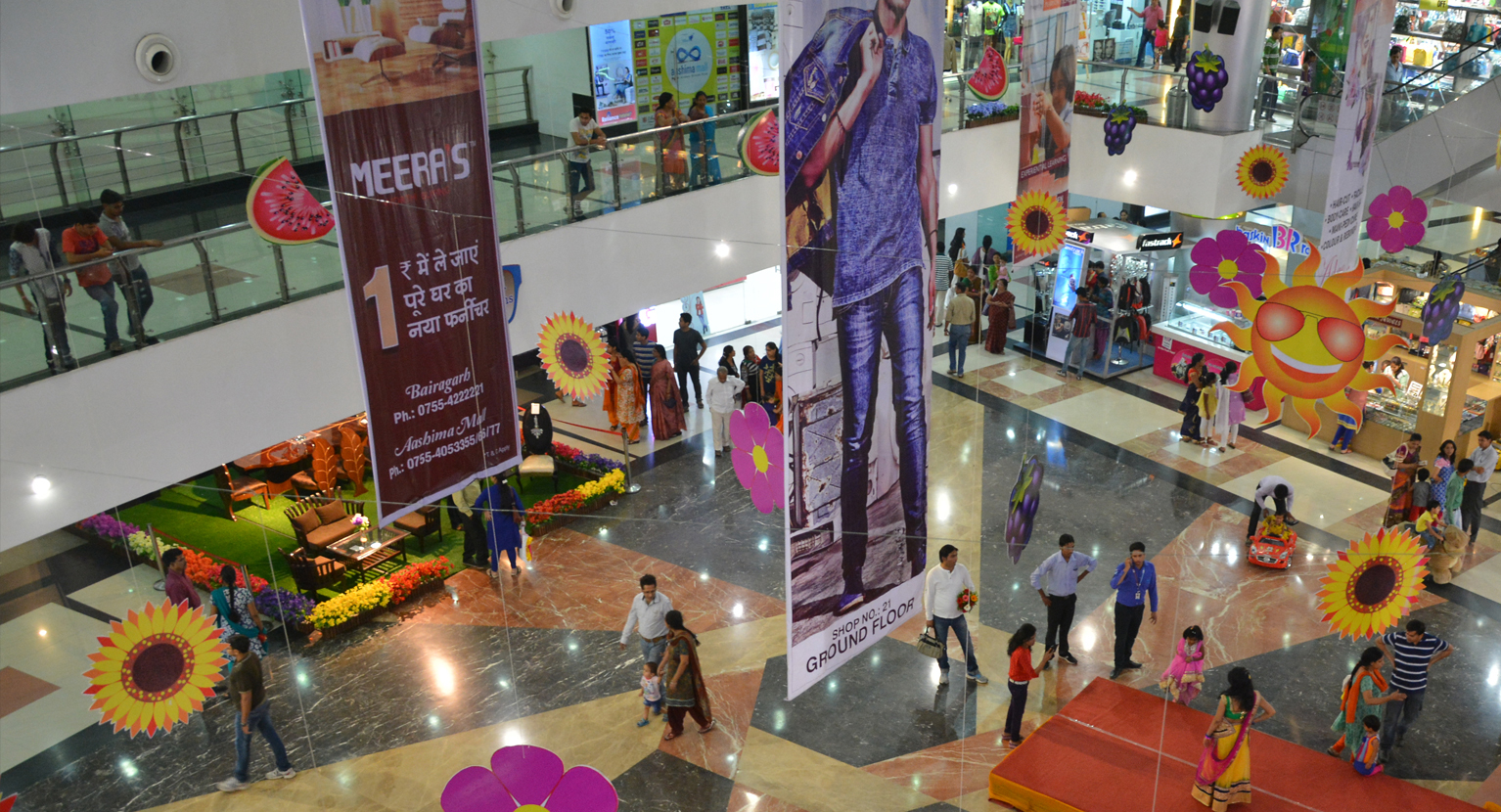 Aashima Anupama Mall - Top Spots In Bhopal Which Are Perfect For A Shopping Splurge