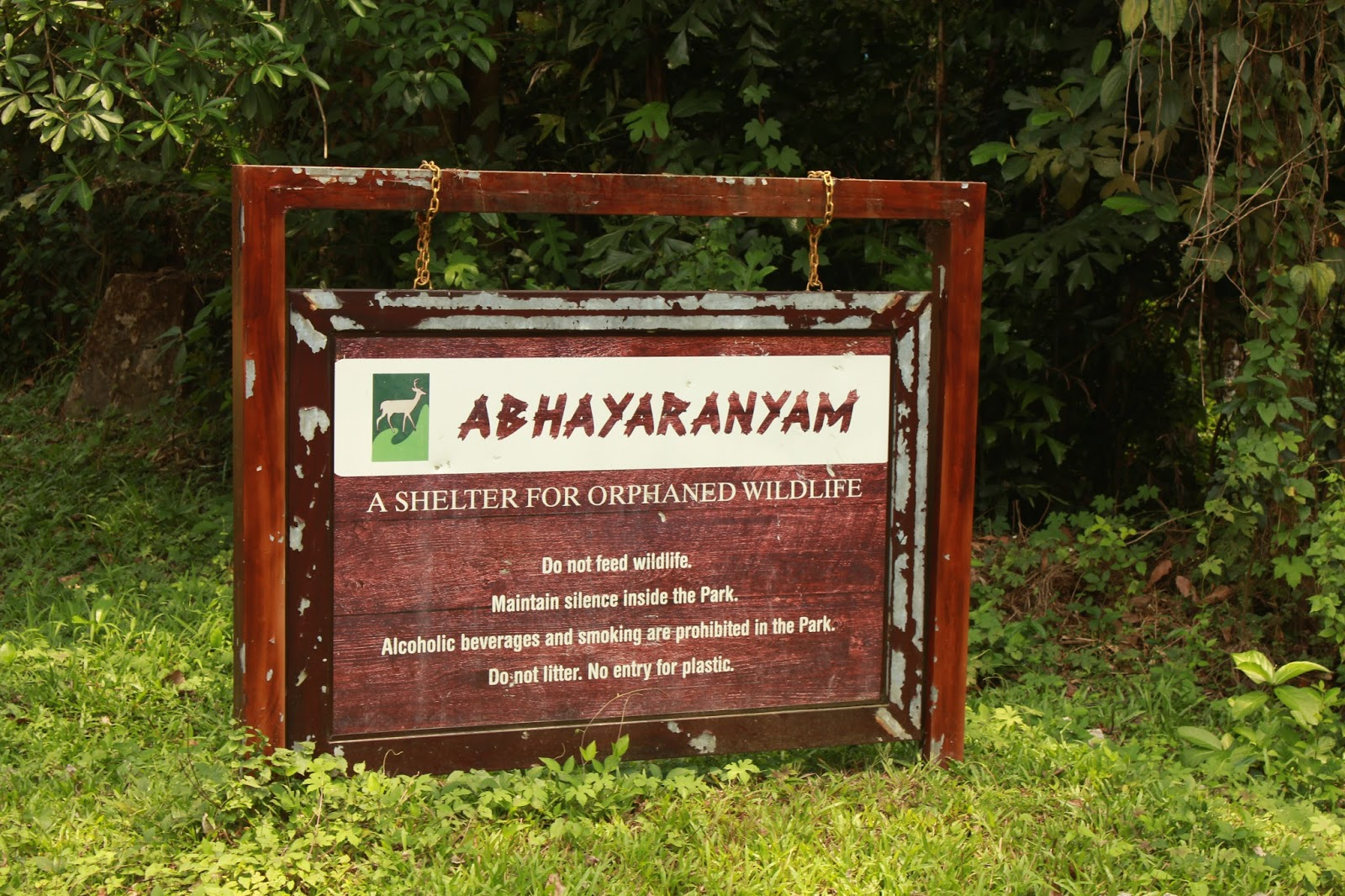 Best Zoo in Kerala-Abhayaranyam Zoo in Ernakulam