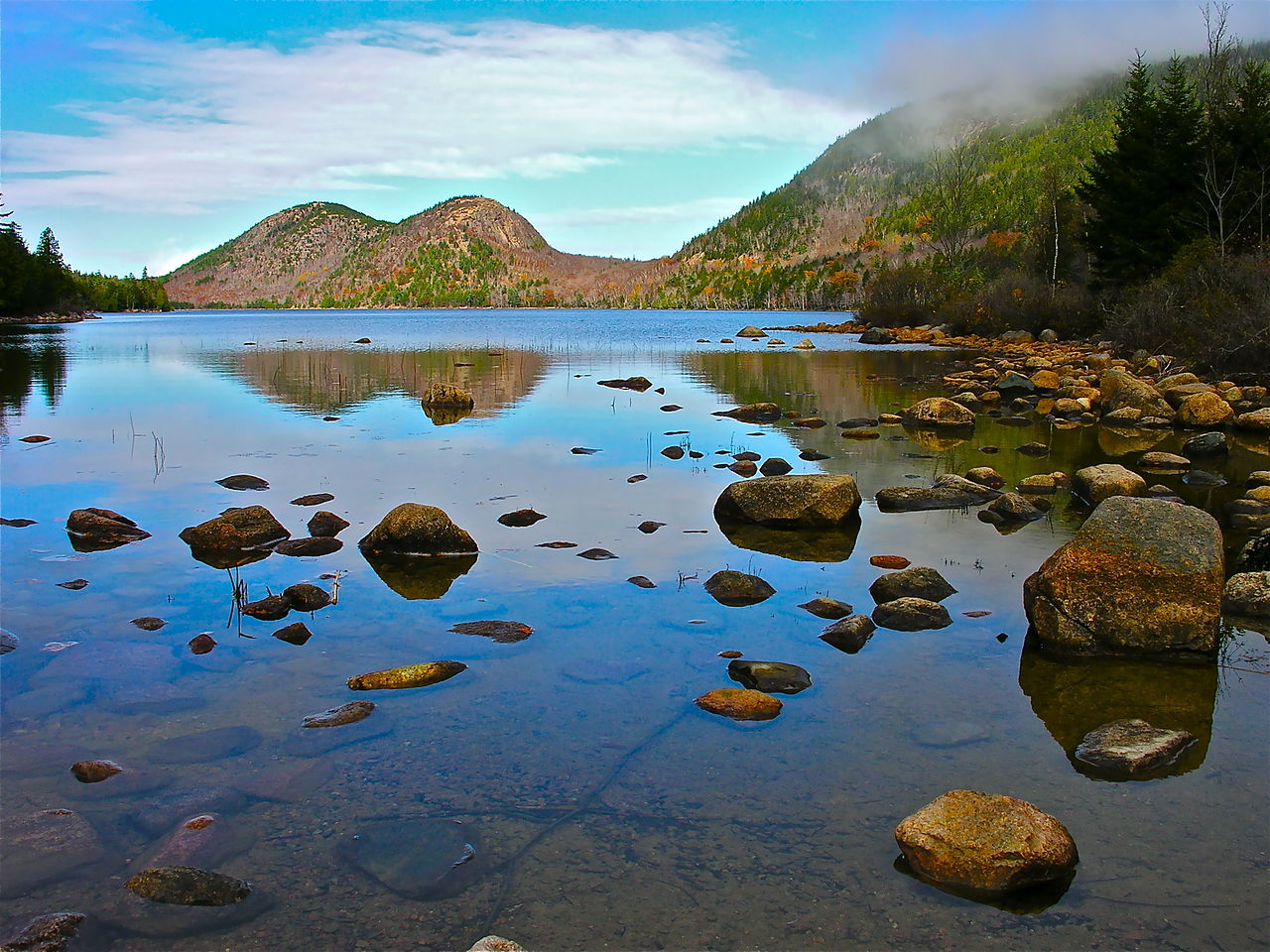 Top Attraction Place In Maine-Acadia National Park