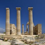 Acropolis of Lindos: The 300 B.C. Monument lies 47 Kms From City of Rhodes